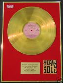 PAUL WELLER  - LP  24 Carat Gold Disc - HEAVY SOUL